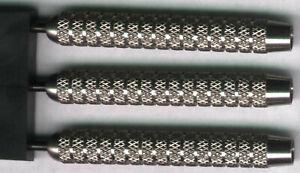"""""""BLOCKHEAD"""" 28 gram Steel Tip Darts 80% Tungsten: 1 set: With Accessories"""