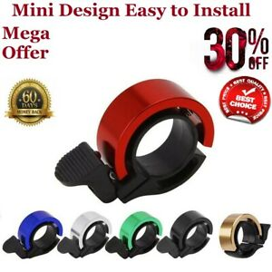 Mini Bicycle Bike Bell Ring Loud Horn MTB Cycling Handlebar Alarm Sports Good UK