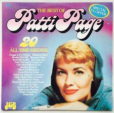 PATTI PAGE The Best of Patti Page OZ J&B EX/EX