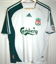 "EX! Liverpool FC Shirt 2006/2007 Away Adidas Small Man / Large Youth 32"" - 34"""