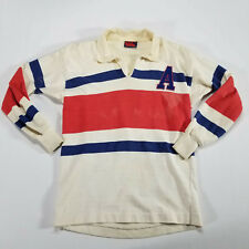 Vintage Canterbury Of New Zealand Rugby Jersey MEDIUM 10 Striped CCC New Zealand