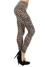 SIZE SMALL - Super Soft & Stretchy Classic Cheetah/Leopard Print Leggings