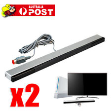 2x Wired Infrared IR Signal Ray Sensor Bar/Receiver for Nintendo Wii Remote