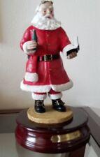 "Duncan Royale Santa ""Soda Pop"" Large Figurine Music Box Reduced"