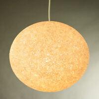 Granulat Pendel Leuchte Kunststoff Hänge Lampe Pille Vintage Lamp Erco 60er 70er