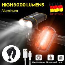USB Fahrradlampe LED Fahrrad Licht Fahrradbeleuchtung Smart Fahrad Scheinwerfer