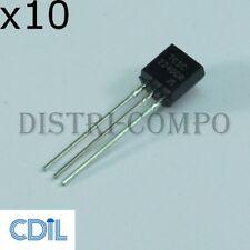 2SC2240 Transistor NPN 120V 0.05A TO-92 CDIL (Lot de 10)