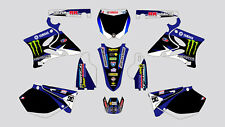 DC MONSTER YAMAHA YZ 125-250 2002-2014 DECAL STICKER GRAPHIC KIT