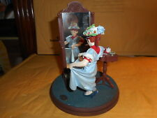 Norman rockwell Gallery figurine (Dressing up)