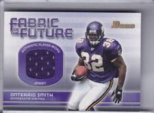 2003 BOWMAN #FA-OS ONTERIO SMITH JERSEY MINNESOTA VIKINGS 7204