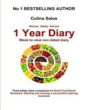 Kitchen Safety Record 1 Year Diary : Week to View Food Safety Management Diar...
