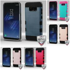 Samsung Galaxy S8 Plus Slim Hard Silicone Case Armor Shockproof Cover