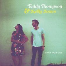 TEDDY THOMPSON & KELLY JONES LITTLE WINDOWS VINILE LP + MP3 NUOVO SIGILLATO !!