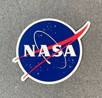 "NASA LOGO Decal Sticker Official Authentic Collectors Collectible 5"""