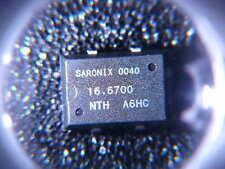 SARONIX CRYSTAL OSCILLATOR CLOCK 16.67MHz CMOS OUTPUT 100ppm SMD **NEW** Qty.1