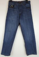 Marx & Dutch Legendary Mens Jeans 30 X 30 Stone Washed Embellished Pockets