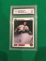 1991-92 GMA Graded Upper Deck Hockey Sergei Fedorov Card # 40 All Rookie Team