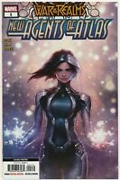 War of the Realms New Agents of Atlas #1 2nd Print Luna Snow Aero Wave Crescent