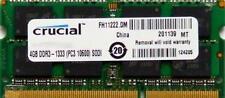 Mémoires RAM pour DIMM 204 broches, 4 Go par module