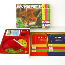Ancien jeu de Société PASSEPORT POUR LA NATURE - Fernand Nathan 1973  - Complet