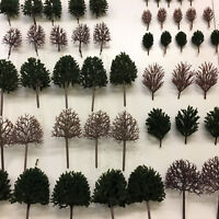 S-P Tall Deciduous Trees B- Model Scenery Railway Layouts Wargames Plastic wood