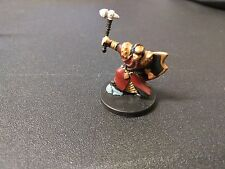 D&D Dungeons & Dragons Miniatures Dragoneye Cleric of Moradin #1