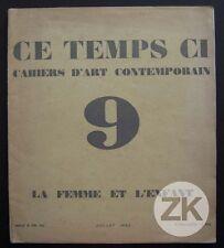 CE TEMPS CI Design Art Deco Kertesz Meuble Dim Jouet de Noailles  Revue 1930