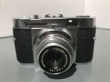 VINTAGE VOIGTLANDER VITO B COLOR SKOPAR 1:3.5/50 35MM GERMAN FILM CAMERA,1954