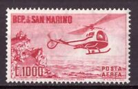 1961 Elicottero Integro MNH San Marino Posta Aerea  Catalogo A138