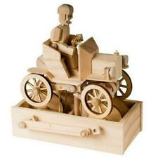 Vintage Car and Driver 3d Moving Wooden Model Kit by Timberkits Automata Vehicle