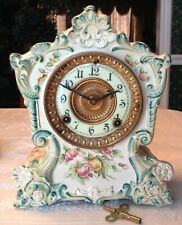 Fabulous Ansonia China Clock Tonquin Case