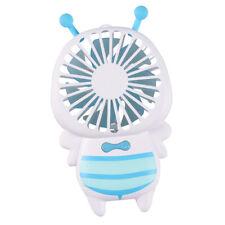 Portable Rechargeable Fan Personal Hand Held Pocket LED Fan Cooler_Blue