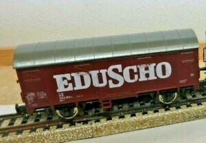 "Roco H0 Closed Goods Wagon "" Eduscho "" DB K 175 Kkk Nem"