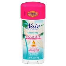 Nair Glides Away Nourish - Moroccan Argan Oil Orange Blossom Hair Remover 3.3 oz