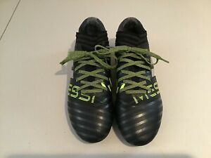 Boys Black Adidas Messi Soccer Cleats Size 5