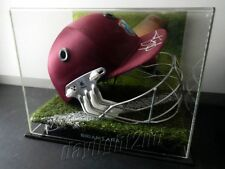 ✺Signed✺ BRIAN LARA Replica Cricket Helmet PROOF COA West Indies 2020 Shirt