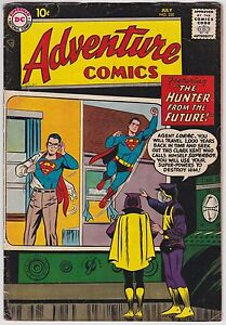 Adventure Comics #250 VG+ 4.5 The Hunter From The Future Superboy 1958!