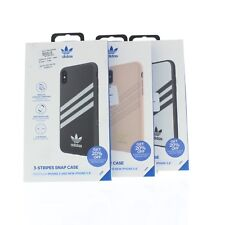"Adidas Samba 3-Stripes Snap Case for Apple iPhone X & New iPhone 5.8"" (2019)"