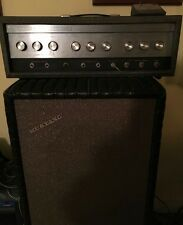 '66 Sears Silvertone amp head, working original tubes + custom Jenson cabinet.