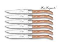Lou Laguiole Steakmesser Set, 6tlg. LUIS in Holzgeschenkbox NEU Holz Geschenk