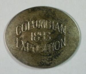 1893 Columbian Exposition – Elongated Seated Quarter
