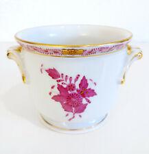 Herend Porzellan Blumentopf Übertopf Apponyi Purpur Chinese Bouquet Purple