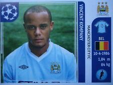PANINI 41 Vincent Kompany Manchester City UEFA CL 2011/12