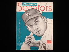 1960 Washington Senators Baseball Yearbook