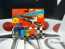 Jeff Gordon #24 Rookie of The Year Dupont Transporter & Car Set