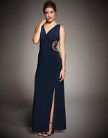 Bravissimo EMBELLISHED MAXI DRESS Detail Maxi Dress in NAVY (80)