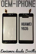 Pantalla cristal digitalizador Tactil Huawei Y635 y 635 negro logo calidad a