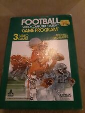 Football for ATARI 2600 Complete in Box  ▪︎▪︎▪︎▪︎▪︎FREE SHIPPING ▪︎▪︎▪︎▪︎▪︎