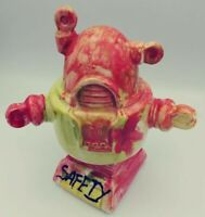 Bizarre Robot Piggy Coin Bank. Wild Colors and design. Singed and dated 2015