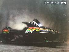1996 Arctic Cat Full Line Snowmobiles Dealers Sales Brochure Catalog